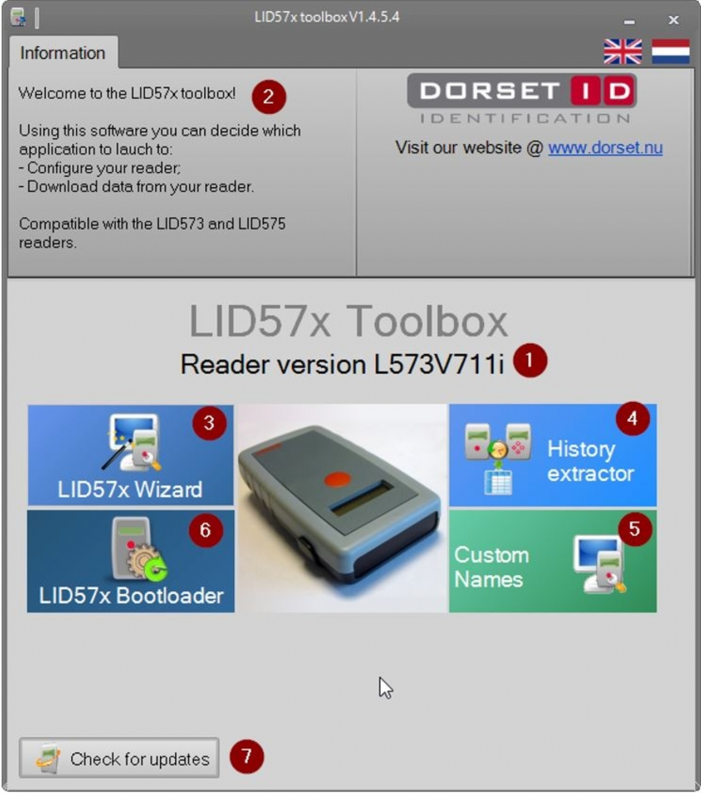 New LID 57x Toolbox Software released